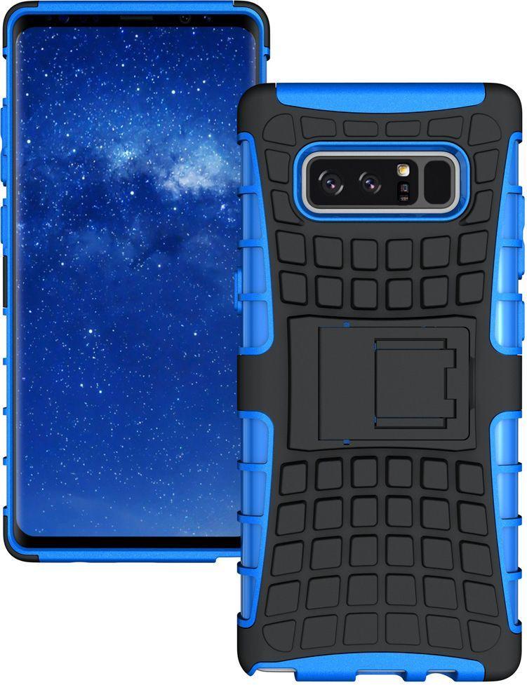 Hurtel Kickstand pancerne etui pokrowiec z podstawką podpórką Samsung Galaxy Note 8 N950 niebieski 1