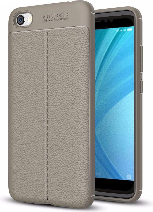 Hurtel Litchi Pattern elastyczne etui pokrowiec Xiaomi Redmi 5A szary 1