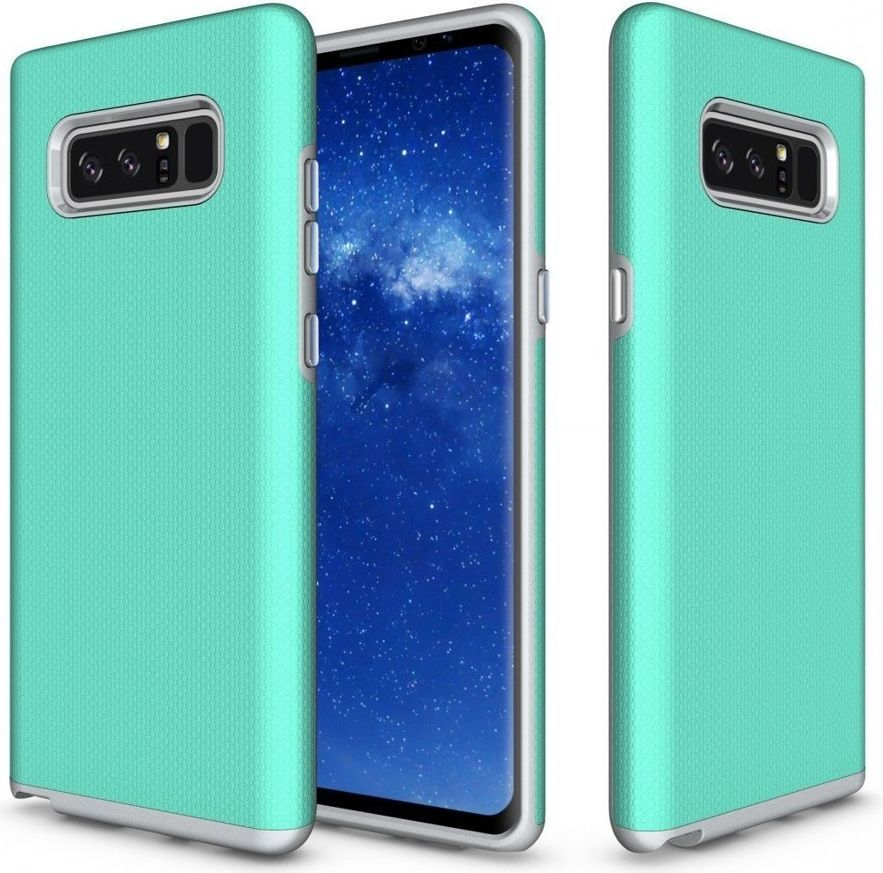 Hurtel Etui Samsung Galaxy Note 8 N950 Rugged Case wytrzymały pancerny pokrowiec zielony 1