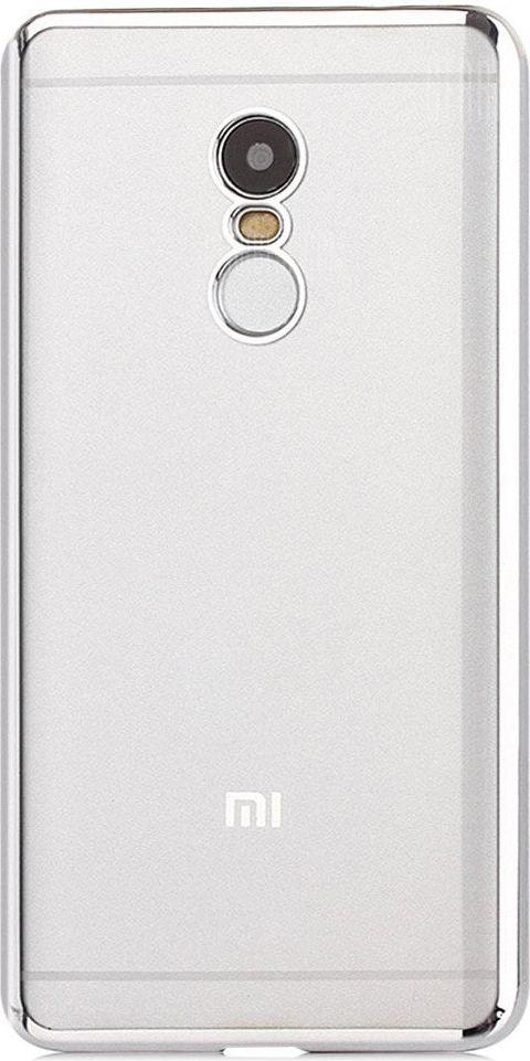 Hurtel Etui Xiaomi Redmi Note 4X / Redmi Note 4 (Snapdragon global version) Metalic Slim elastyczny pokrowiec srebrny 1