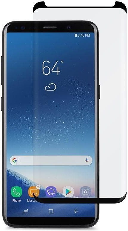 Puro PURO Premium Full Edge Tempered Glass Case Friendly - Szkło ochronne hartowane na ekran Samsung Galaxy S9 (czarna ramka) 1