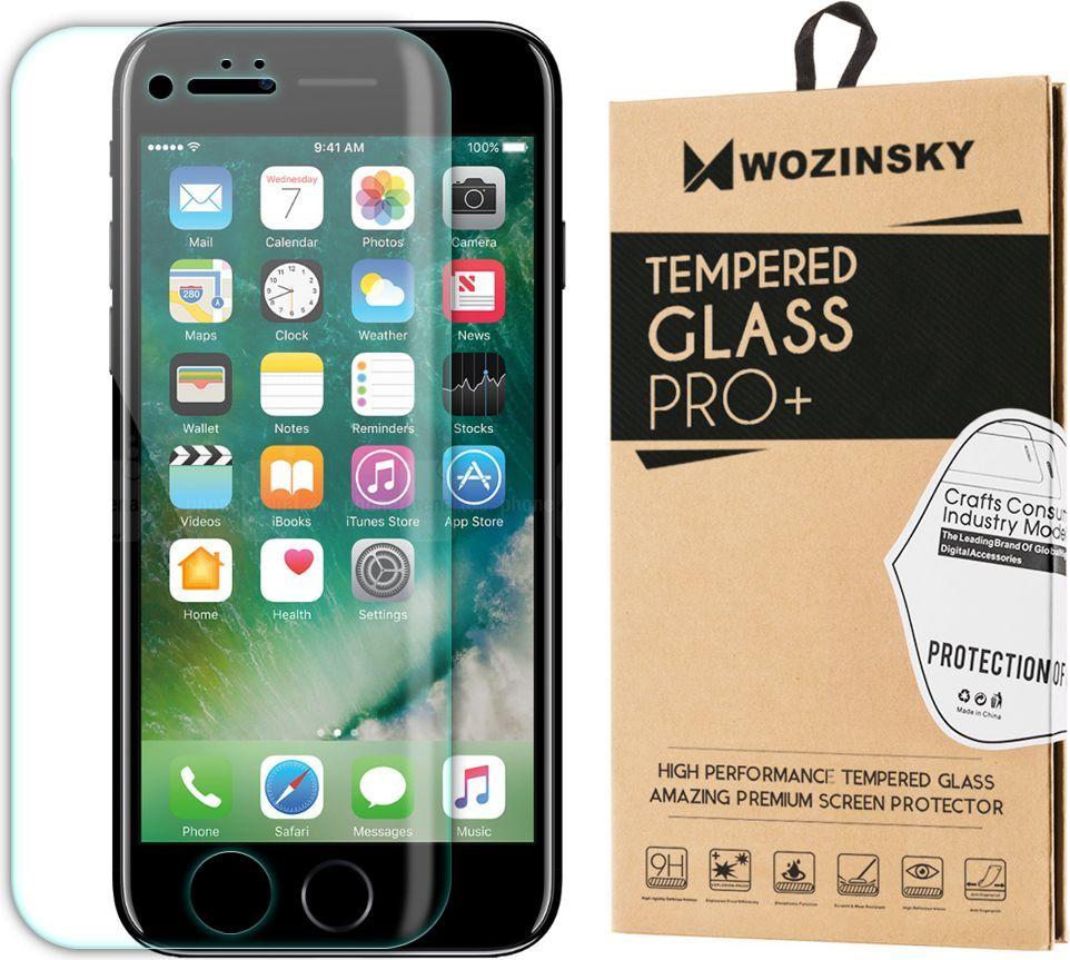 Wozinsky Szkło hartowane Wozinsky na cały ekran LCD do iPhone 7 Plus przezroczyste 1
