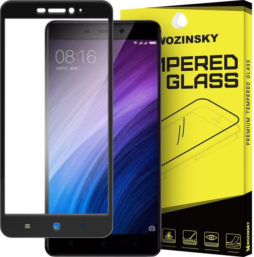 Wozinsky Szkło hartowane 9H do Xiaomi Redmi 4A czarny (27333-uniw) 1