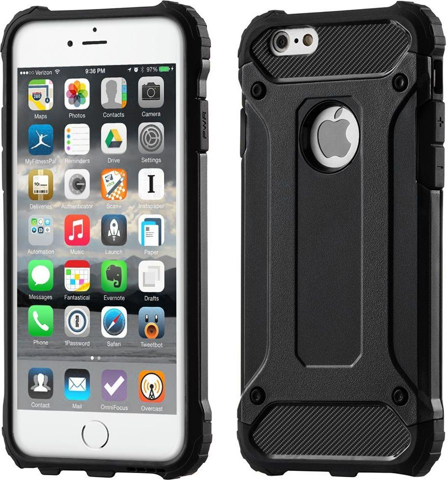 Hurtel Etui Hybrid Armor iPhone 6S 6 pancerny hybrydowy pokrowiec 1