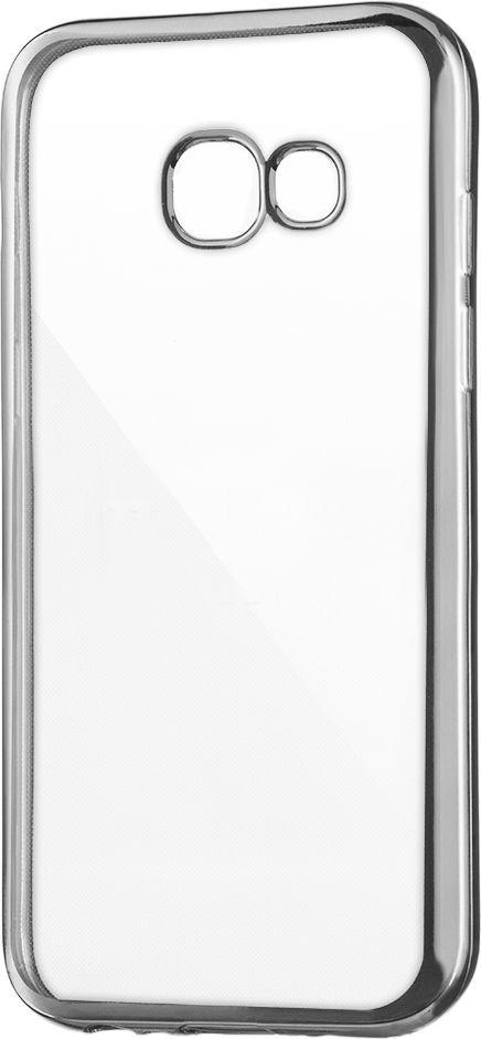 Hurtel Żelowe etui Metalic Slim na Samsung Galaxy A5 2017 A520 srebrne 1
