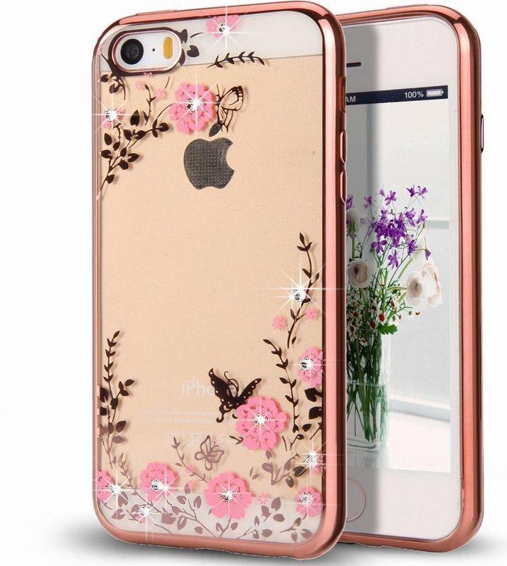Hurtel Bloomy Case designerskie etui żelowy pokrowiec Samsung Galaxy J5 2017 J530 różowy 1