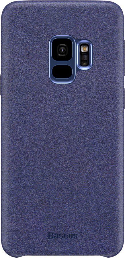 Baseus Baseus Original Case stylowe etui pokrowiec pokryty materiałem Samsung Galaxy S9 G960 niebieski 1