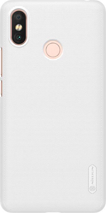 Nillkin Etui Frosted Shield Xiaomi Mi Max 3- White 1