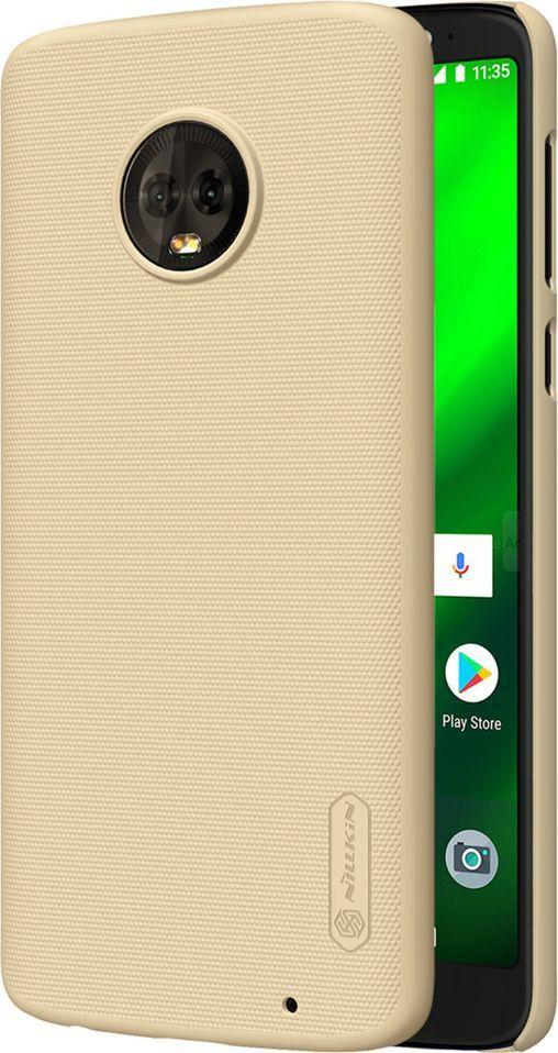 Nillkin Etui Frosted Shield Motorola Moto G6 Plus - Gold 1