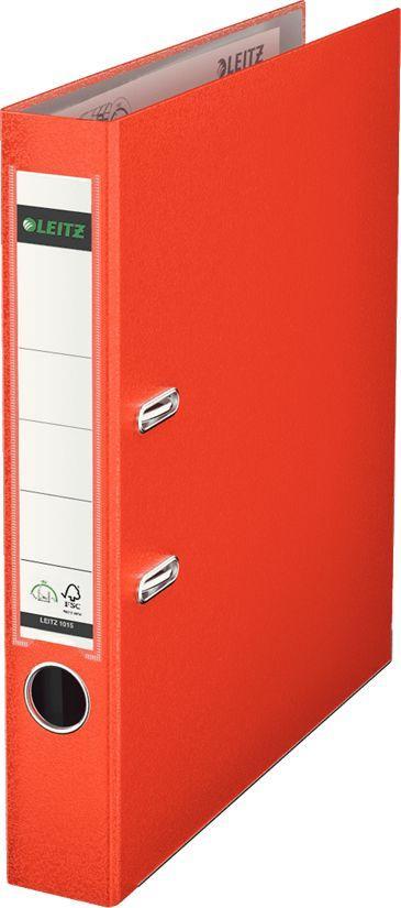 Segregator Leitz 180° dźwigniowy A4 50mm czerwony (263827a) 1