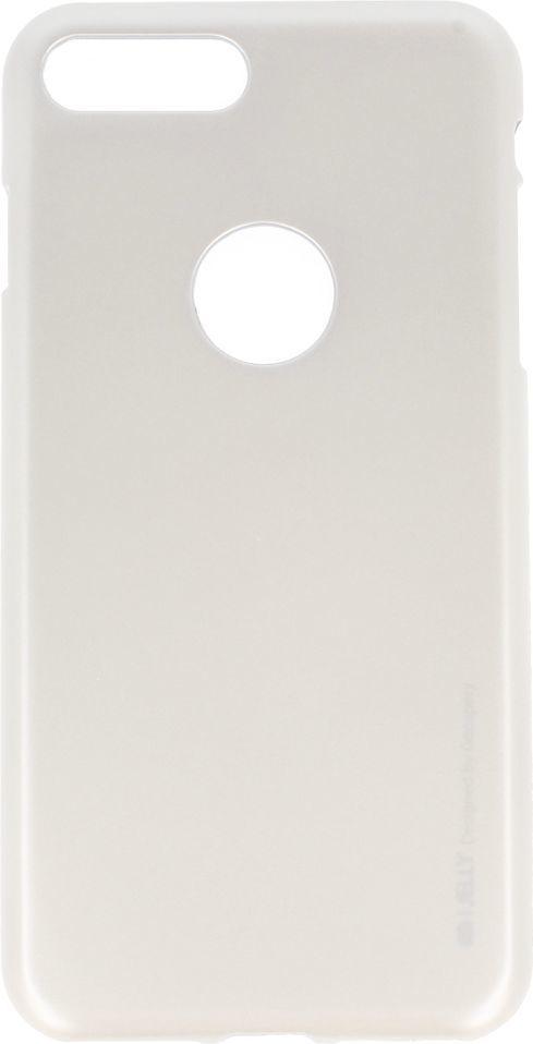 Mercury Goospery Etui ijelly new IPHONE 8+ srebrny 1