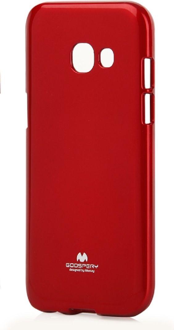 Mercury Goospery Etui Jelly Case Mercury SAMSUNG A3 2017 czerwone 1