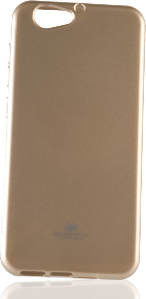 Mercury Goospery Etui Jelly Case Mercury HTC A9S złoty 1