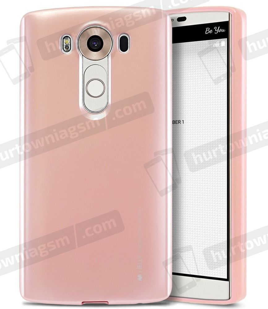 Mercury Goospery Etui iJelly new LG K8 jasny róż 1