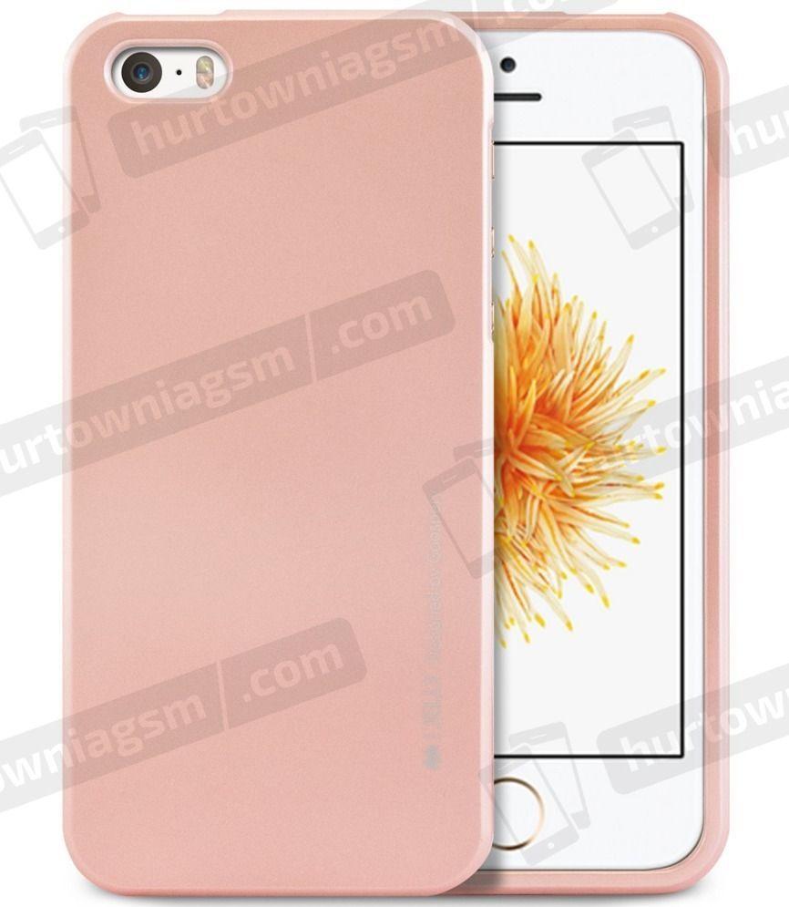 Mercury Goospery Etui iJelly new IPHONE 4/4S jasny róż 1