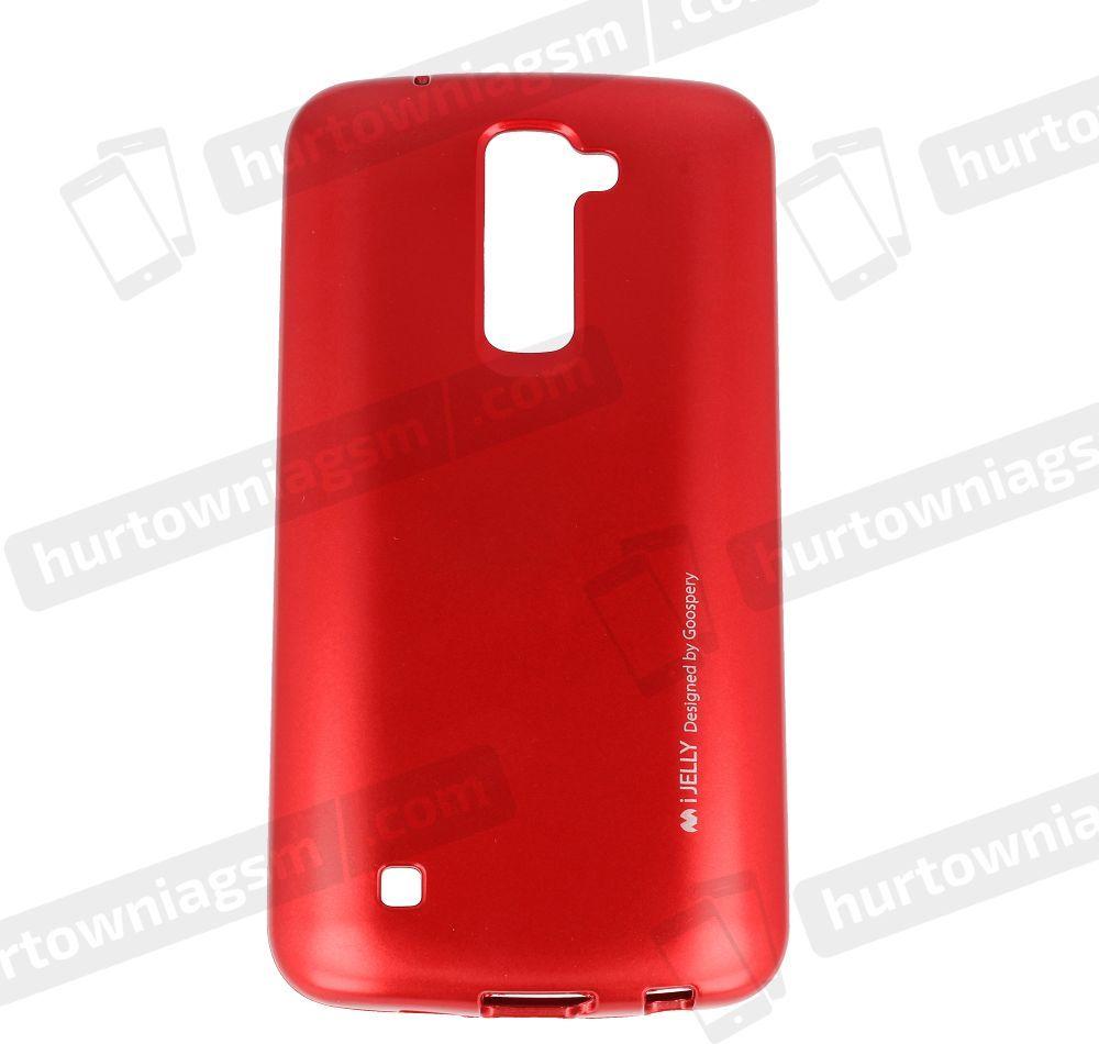 Mercury Goospery Etui iJelly mercury LG K10 F670 czerwony 1