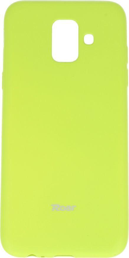 ROAR Etui Roar colorful SAMSUNG A6 2018 limonkowy 1