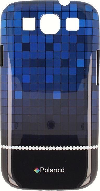Polaroid Etui Polaroid hard Samsung S4 kafelki niebieskie 1