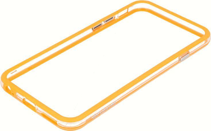 Polaroid Etui Polaroid soft bumper Samsung S5 pomarańczowe 1
