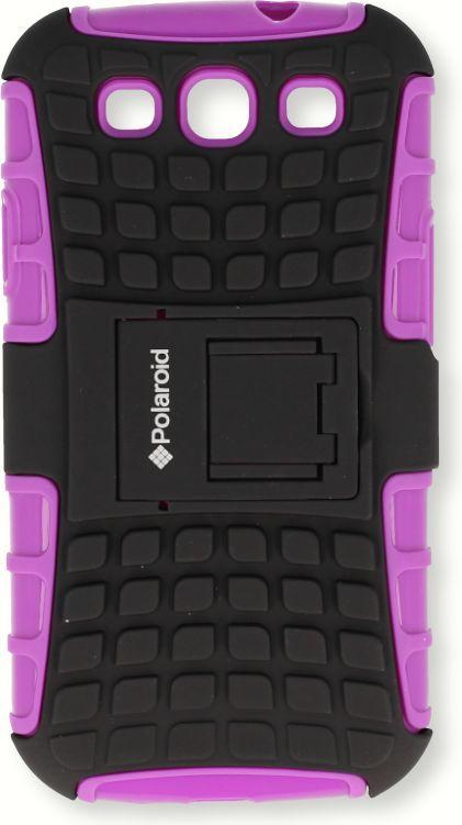 Polaroid Etui Polaroid pancerne Iphone 4 fioletowe 1