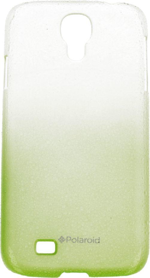 Polaroid Etui Polaroid hard Samsung S4 water drops zielone 1