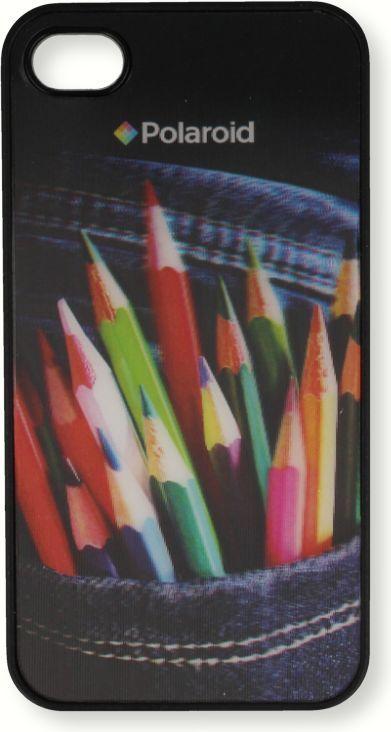 Polaroid Etui Polaroid hard 3D Samsung S4 kredki 1