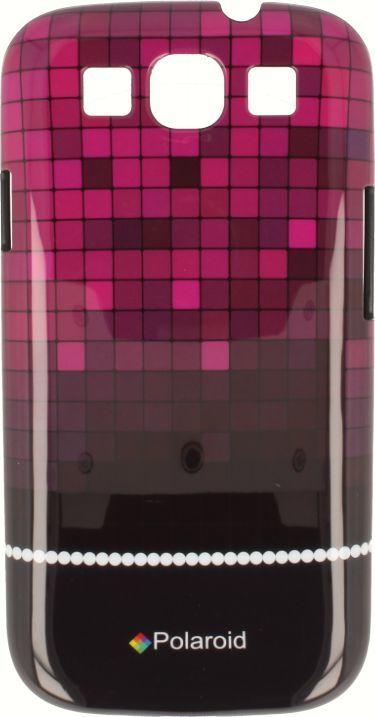 Polaroid Etui Polaroid hard Samsung S3 kafelki różowe 1