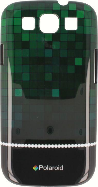 Polaroid Etui Polaroid hard Samsung S3 kafelki zielone 1