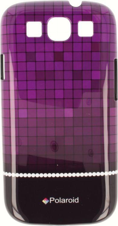 Polaroid Etui Polaroid hard Samsung S3 kafelki fioletowe 1