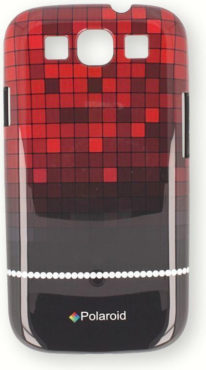 Polaroid Etui polaroid hard iPhone 4 czerwony 1
