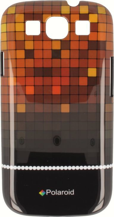 Polaroid Etui polaroid hard iPhone 4 pomarańczowe 1
