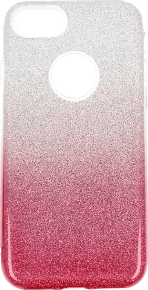 nemo Etui Glitter Iphone 7 srebrno- różowe 1