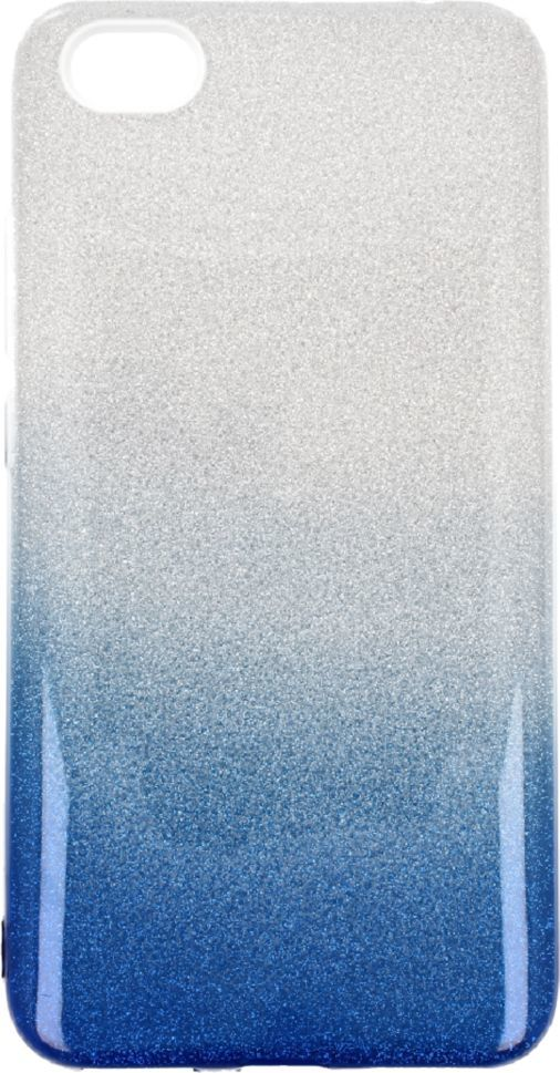 nemo Etui Glitter Xiaomi Redmi 5A srebrno- niebieskie 1
