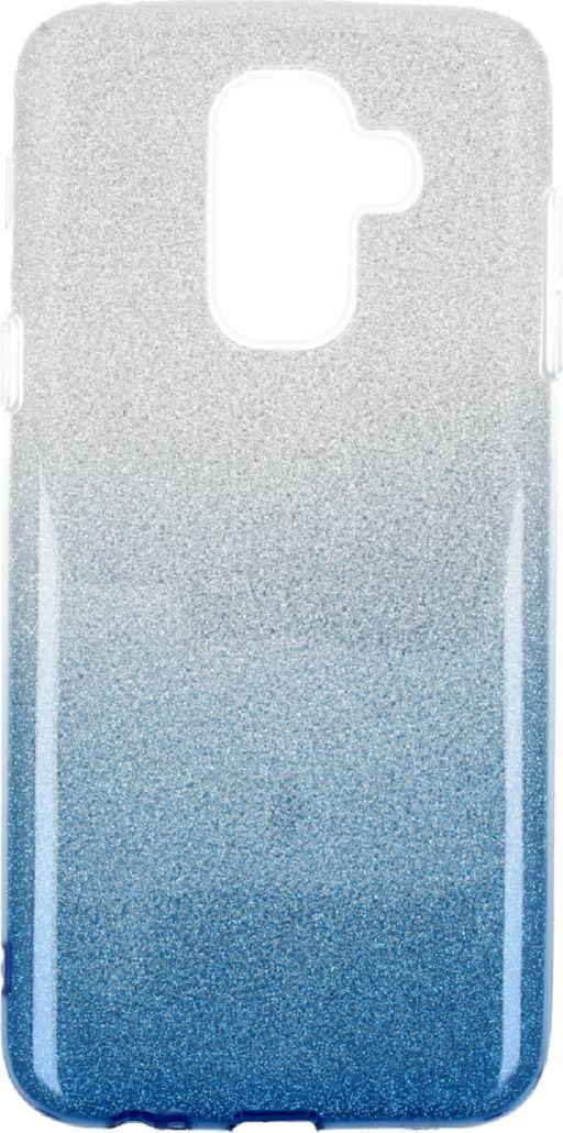 nemo Etui Glitter SAMSUNG A6 2018 srebrno-niebieskie 1