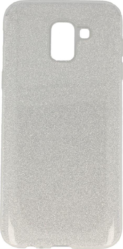 nemo Etui Glitter SAMSUNG J6 2018 srebrne 1
