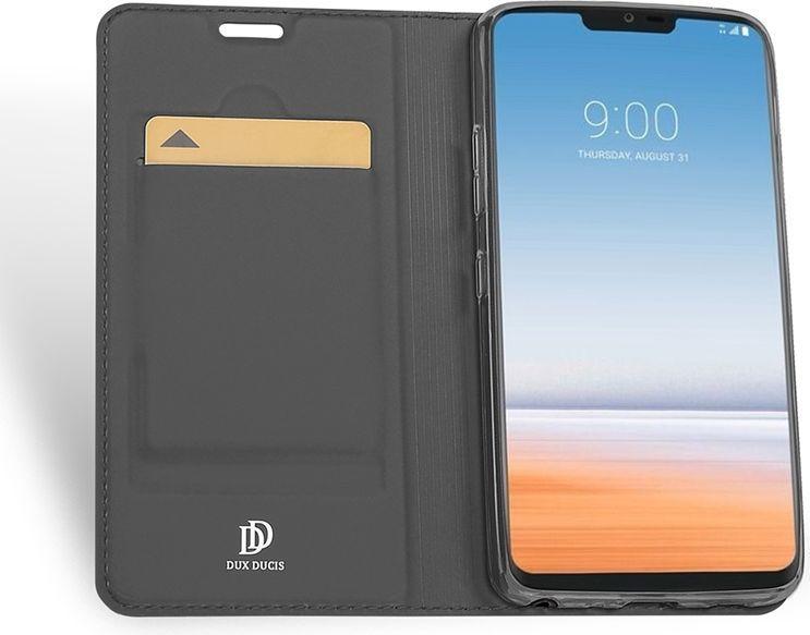 Dux Ducis skin leather LG G7 szare 1