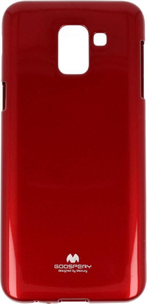 Mercury Goospery Etui Jelly mercury Samsung J6 2018 czerwone 1