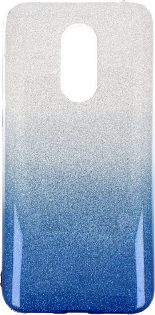 nemo Etui Glitter Xiaomi Redmi 5 srebrno- niebieskie 1