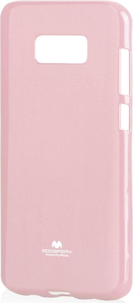 Mercury Goospery Etui Jelly Mercury SAMSUNG G955 S8+ jasny różowy 1