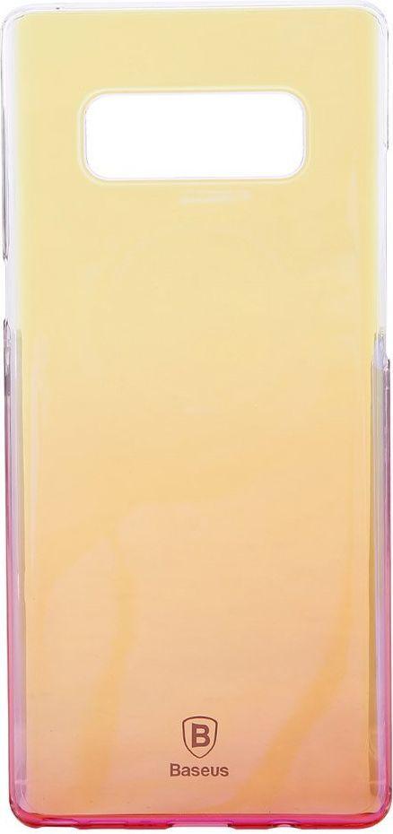 Baseus Etui Baseus Glaze SAMSUNG NOTE 8 pink WISANOTE8-GC04 1