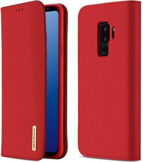 Dux Ducis Etui Wish leather Galaxy S9+ czerwone 1