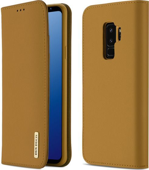 Dux Ducis Etui Wish leather Galaxy S9+ brązowy 1