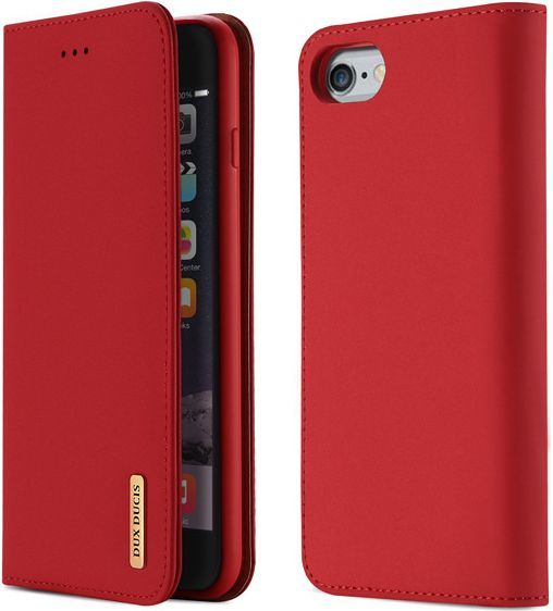 Dux Ducis Etui Wish leather iPhone 6+ czerwone 1