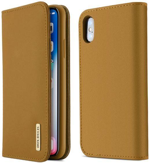 Dux Ducis Etui Wish leather iPhone X brązowe 1