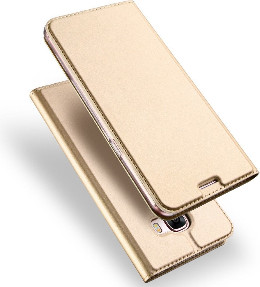 Dux Ducis Etui portfel Dux ducis skin leather Huawei Honor 7x złoty 1