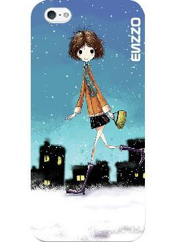 Enzzo ETUI ENZZO SAMSUNG I9190 S4 MINI AUTUMN GIRL 1