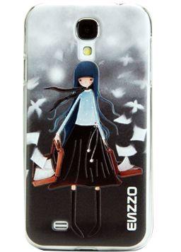 Enzzo 3D SAMSUNG I9500 S4 GIRL BOOK 1