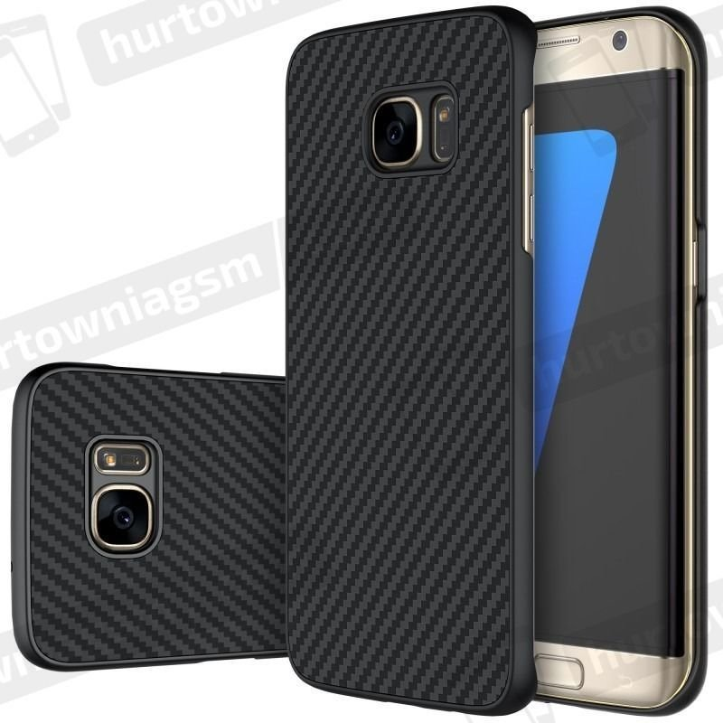 Nillkin Etui Synthetic Fiber Galaxy S7 Edge czarne 1