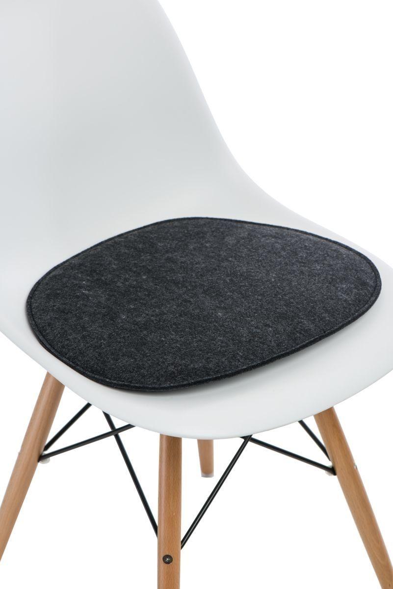 D2 Design Poduszka na krzesło Side Chair ciemnoszara 1