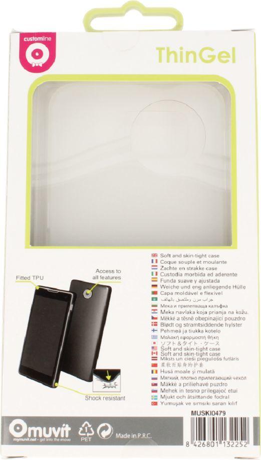 nemo Etui Samsung S6 thin gel back case milk 1